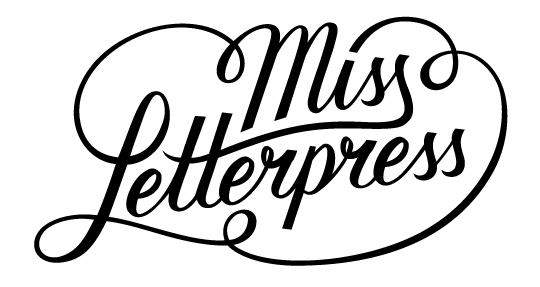 Miss Letterpress logo